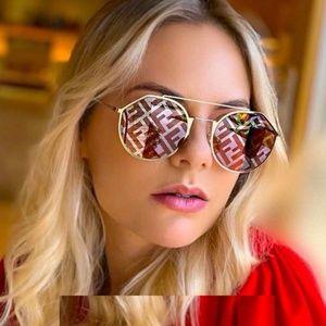 NWT FENDI M0021s - Kwx0l  Red Sunglasses